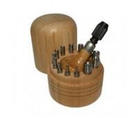 Обжимки 1,50-4,25 мм (к-т 12 шт.) в футляре 4701