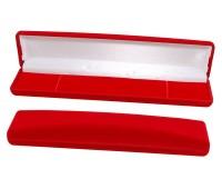 """Футляр """"Классика"""" браслет А3,  красный флок"""