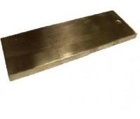 Анод медный 150х50х5,0 мм