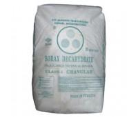 Бура (натрий тетраборнокислый) упак. 25 кг