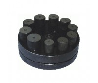 Вырубка дисков 21-30 мм 10 размеров